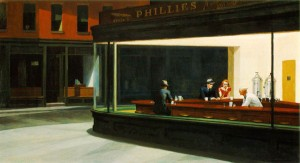 Edward Hopper. Night Hawks