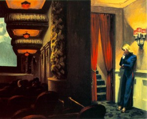 Edward Hopper. New York Movie.
