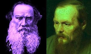 Tolstoi y Dostoievski